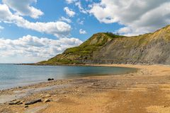 Chapman`s Pool, Jurassic Coast, Dorset, UK. Chapman`s Pool, near Worth Matravers, Jurassic Coast, Dorset, UK Stock Photography