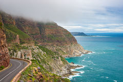 Chapman's Peak Drive, Cape Town, South Africa Royalty Free Stock Photos