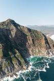 Chapmans峰顶推进Soth非洲鸟瞰图 库存图片