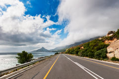 Chapmans峰顶驱动开普敦南非 图库摄影