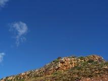 Chapmans de montagne du ciel le plus bleu Photo libre de droits