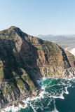 Chapmans Peak Drive Soth Africa aerial view Stock Image
