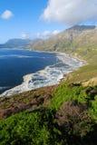 Chapmans Peak Vertical. Chapmans Peak Coastline in Cape Town Peninsula Stock Photos