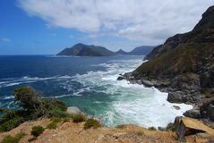 Chapmans Peak View. View from Chapmans Peak, cape Town Royalty Free Stock Images