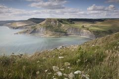 Chapmans Pool, Dorset Royalty Free Stock Photography