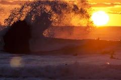 Chapoteo 1 de Sun Foto de archivo
