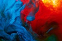 Chapoteo abstracto de la pintura Fotografía de archivo libre de regalías