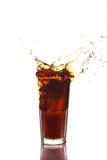Chapoteo de la cola Foto de archivo libre de regalías