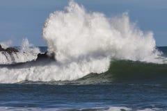 Chapoteo de la onda Fotografía de archivo libre de regalías