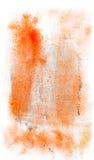 Chapoteo de la pintura del bicromato de la goma Foto de archivo libre de regalías