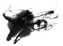Chapoteo de la tinta Foto de archivo