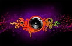 Chapoteo de los sonidos Foto de archivo