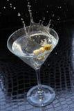 Chapoteo de Martini Foto de archivo