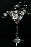 Chapoteo de Martini Imagenes de archivo