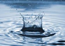 Chapoteo del agua Imágenes de archivo libres de regalías