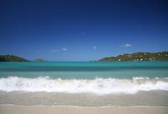 Chapoteo del Caribe imagen de archivo