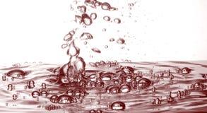 Chapoteo del petróleo Foto de archivo libre de regalías