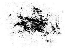 Chapoteo del vector Foto de archivo libre de regalías