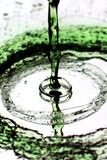 Chapoteo verde Imagen de archivo