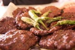 Chappal Kabab - barbecue Photos libres de droits