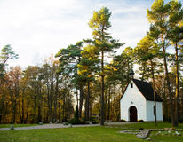 Chappel at Chelmska Hill Stock Photography