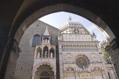 Chappel de Bartolomé Colleoni - Bérgamo - Italia Foto de archivo