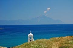 chappel Greece mały Obrazy Royalty Free
