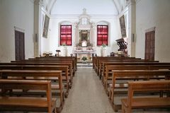 Chappel in malta Royalty Free Stock Images
