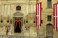 Chappel in malta Royalty Free Stock Photo