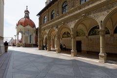 Chappel på den Marija Bistrica kyrkan, Kroatien Arkivfoto
