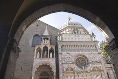Chappel van Bartolomeo Colleoni - Bergamo - Italië Stock Foto