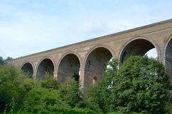 Chappel viaduct colne valley Royalty Free Stock Photo