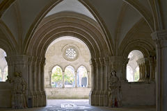 Chapter House of Alcobaca Monastery Stock Images
