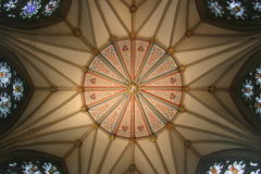 Chapter-House-Ceiling Royalty Free Stock Image