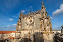 Convent of Christ. Tomar, Portugal royalty free stock photography
