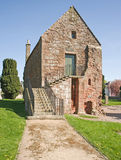 The Chapter house and Sacristy at Fortrose. Royalty Free Stock Photo