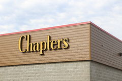 Chapters store. In Coquitlam BC. Photo taken on September 01, 2013 stock photos