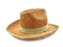 Chapéu de bambu Imagens de Stock