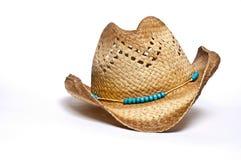 Chapéu do Cowgirl Fotografia de Stock