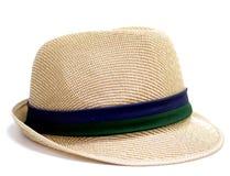 Chapéu do Weave isolado Foto de Stock