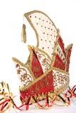 Chapéu e flâmulas alemães dos jesters Fotos de Stock Royalty Free
