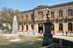 Chapultepec Castle, home of the National History Museum in Mexico City Stock Images