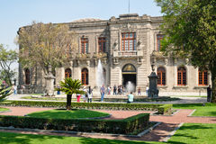 Chapultepec Castle, home of the National History Museum in Mexico City Stock Photos
