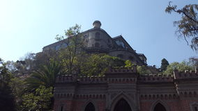 `Chapultepec Castle` Royalty Free Stock Photography