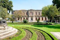 Chapultepec Castle in Mexico City Royalty Free Stock Photos