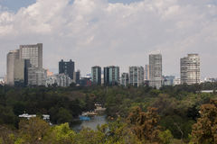 Chapultepec forest Royalty Free Stock Image