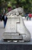 Chapultepec mexico stone logo Stock Photo