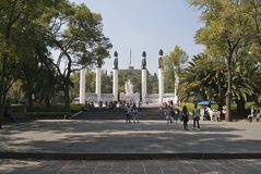 Chapultepec, mexico royalty free stock photography