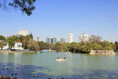 Chapultepec park, Meksyk Zdjęcie Royalty Free