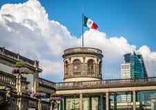 Chapultepec slott - Mexico - stad, Mexico royaltyfri bild